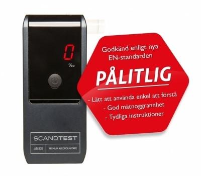 Alkoholmätare - Scandtest AM800 Premium