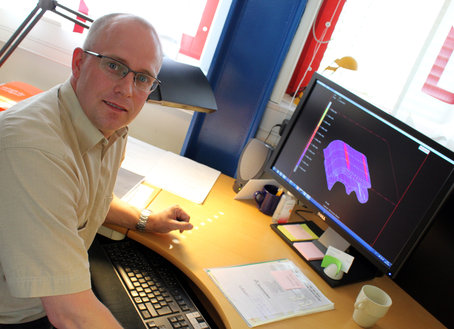 LTU-forskaren Matti Rantatalo har skapat en modell för test av oljud i bilar