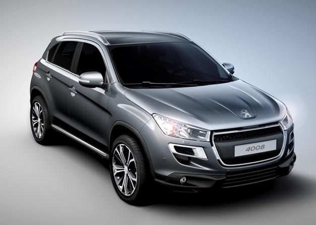 Första bilderna på Peugeots nya SUV - 4008