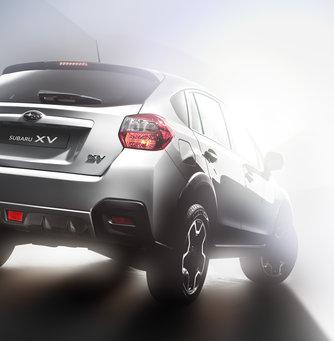 Första officiella bilden på produktionsklara Subaru XV